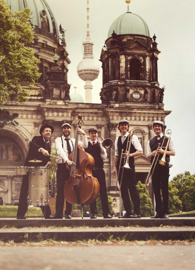 German Trombone Vibration Hochzeitsband