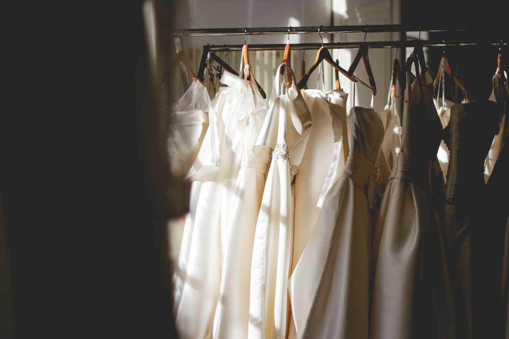 Hochzeits-Planer für das Hochzeitskleid