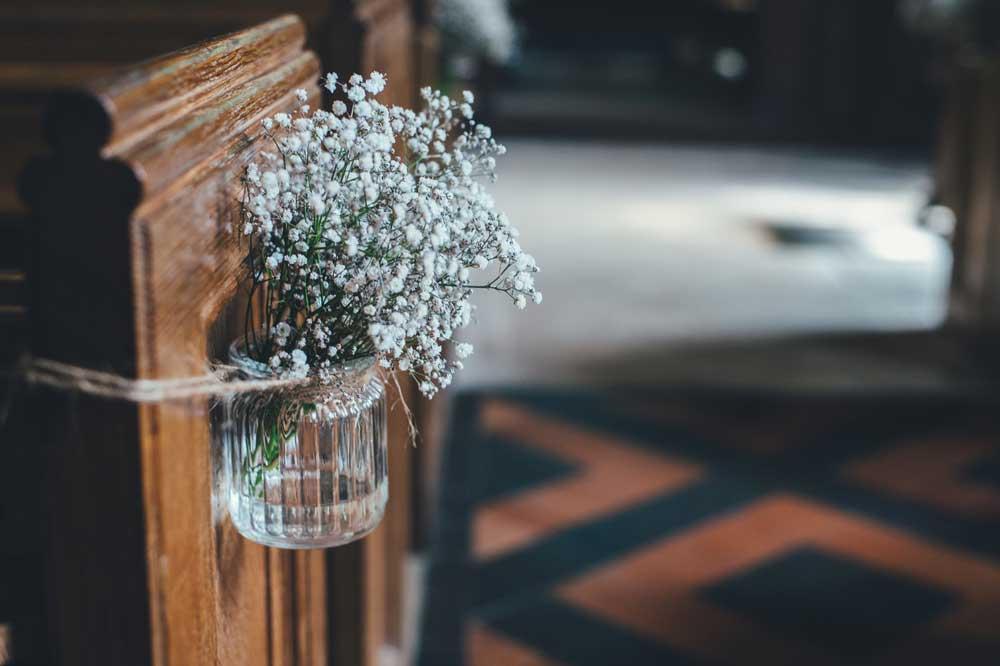 Hochzeitsplaner für die Kirche