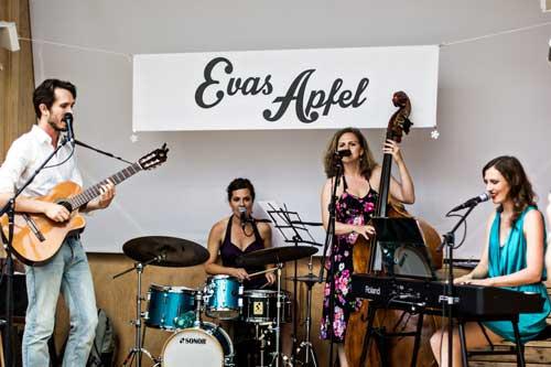 Band Agentur für Jazzband Evas Apfel