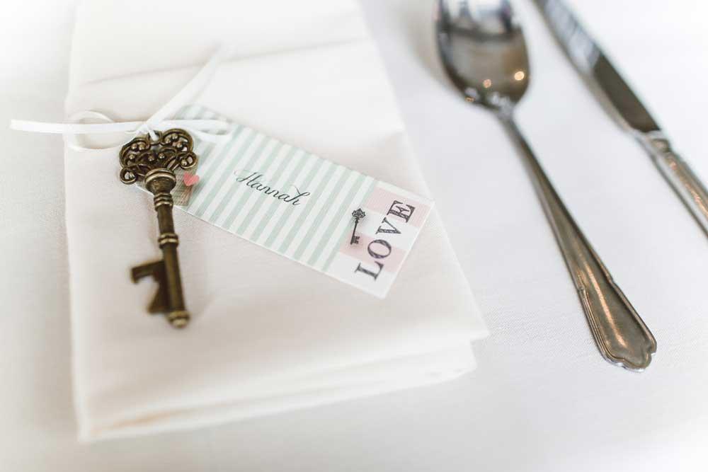 Hochzeitsplaner für die Dekoration