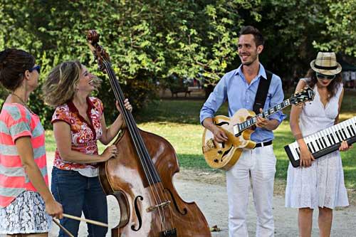Jazz Band Evas Apfel