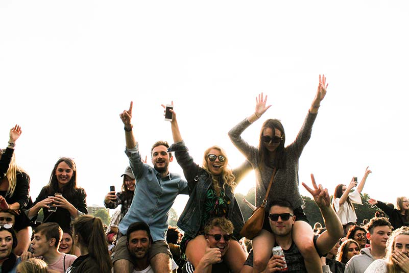 Openair-Party mit Coverband in Stuttgart