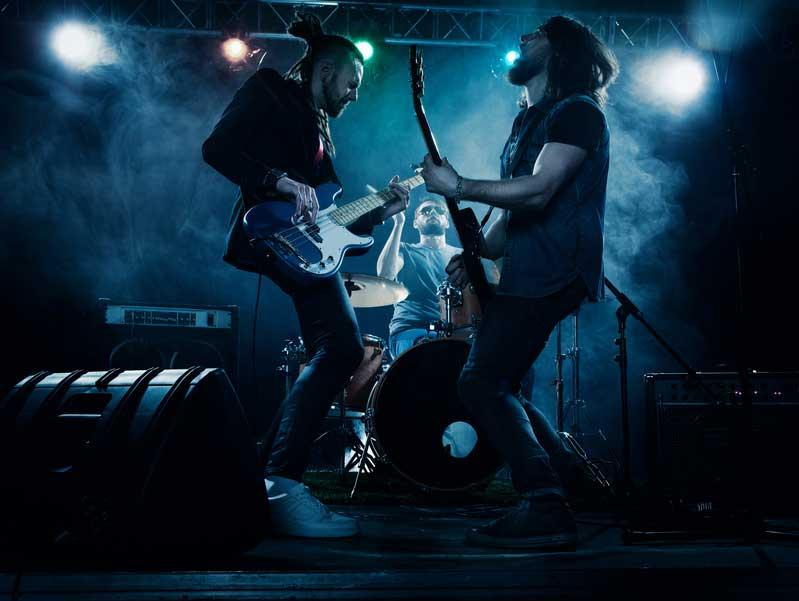 Rockbands in Deutschland buchen