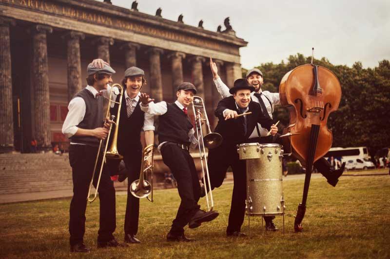 Swing German Trombone Vibration