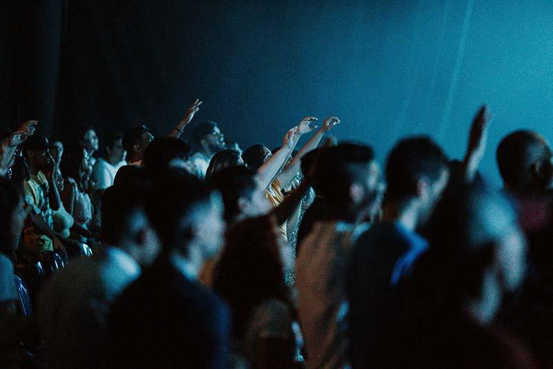 Tanzfläche von Party mit Cover Band in Mannheim Karlsruhe