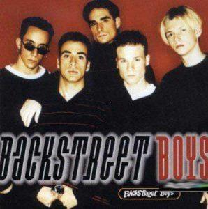 90er Band Backstreet Boys