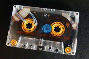 90er Musik Tape