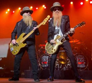 Pop und Rock Oldie Band ZZ Top